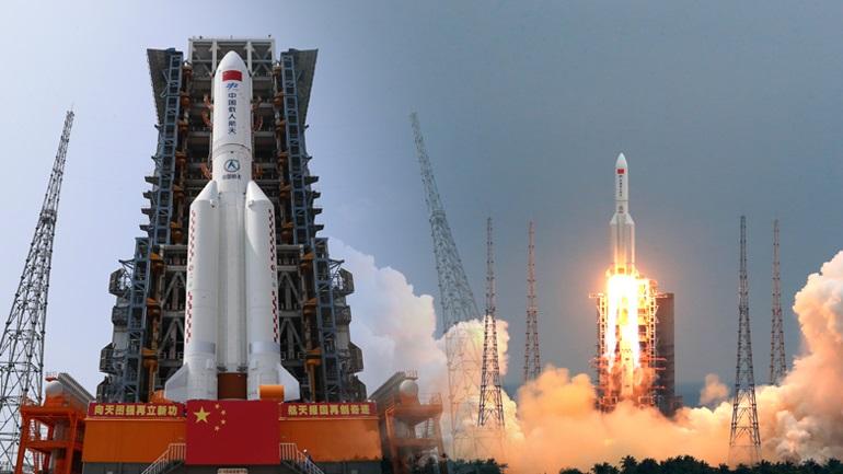 Στον Ινδικό Ωκεανό έπεσε ο κινεζικός πύραυλος